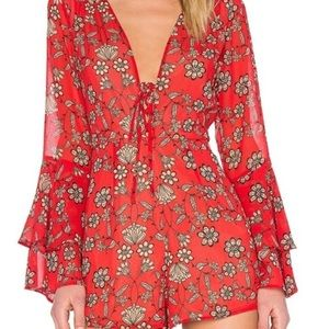 For Love And Lemons Pia Romper